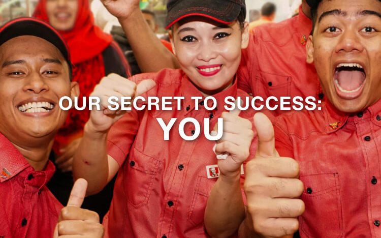 Our Secret to Success: You